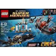 Lego 76027 - Heroes - Ataque Do Fundo Do Mar De Manta Negra