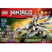 Lego 70748 - Lego Ninjago - Dragão De Titanio - 360 Peças