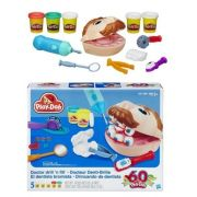 Massinha Play Doh Playset Brincando de Dentista - Hasbro