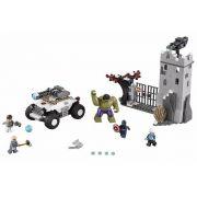 Lego 76041 -  Vingadores Combate na Fortaleza de Hydra