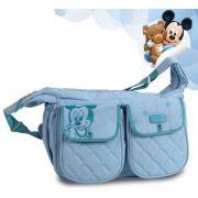 Baby Bag Mickey Baby Grande Luxo Com Trocador - Dermiwil