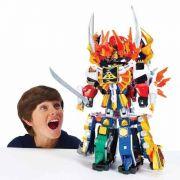 Boneco Power Rangers Samurai Megazord / Gigazords - Sunny