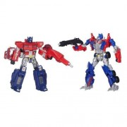 Transformers 4 Then  Now Optimus Prime 1984 e 2014 - Hasbro