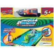 Aqua Racer Pista Inflável + 1 Barco - Multikids