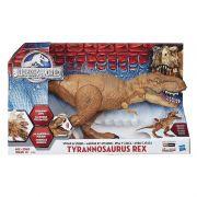 Jurassic World  T – Rex figura eletrônica Hero Luxo - Hasbro