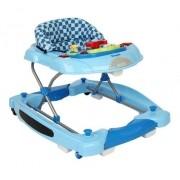 Andador e Centro Atividades Baby Coupé  Azul Burigotto