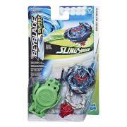 Bey Blade Burst Turbo Sling Shock – 2 modos batalha - Wonder Valtryek V4 Hasbro