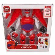 Big Hero 6 Armadura Baymax Transformação 22 cm Com 20 peças Sunny