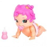 Boneca Bizzy Bubs Princesinha – Engatinha e Fala – DTC