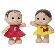 Boneca Turma da Mônica Iti Malia – Magali e Mônica 23 cm – Baby Brink