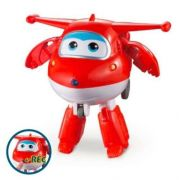 Boneco Transformer Super Wings Jett Grava e Fala - Fun