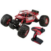 Carrinho De Controle Remoto – Anfibius Rock Rover  - Vermelho - Estrela
