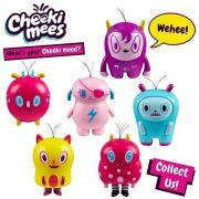 Cheeki Mees Serie 1 Kit Com 6 – Aline , Bia, Billy, Dogão, Bob ,Paty - Candide