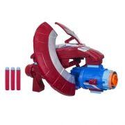 Escudo lançador Nerf Capitão America Vingadores Guerra Infinita  Hasbro