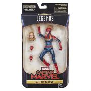 Figura Legends Series Build Filme Capitã Marvel 16 cm Articulada Hasbro