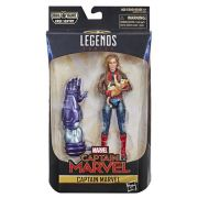 Figura Legends Series Build Filme Capitã Marvel e Goose 16 cm Articulada Hasbro