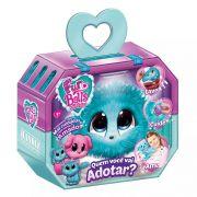 Fur Balls Pets Adotados Surpresa Azul – Lave,Cuide ,Ame - Fun