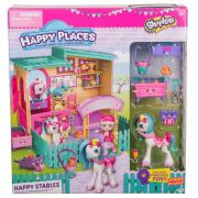 Shopkins Happy Places – Happy Estábulo C/ Pônei - DTC