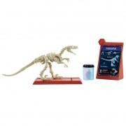 Jurassic World 2 – Esqueleto Dino Jurassico - Velociraptor – Mattel