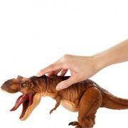 Jurassic World Tiranossauro T-Rex Botão mordida 50 cm Mattel