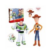 Kit Parceiros Buzz Lightyear E Woody Toy Story 30 e 40 cm - Toyng