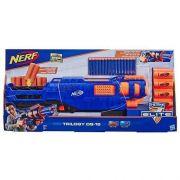 Lançador Nerf N-Strike Elite - Trilogy DS-15 – lança 3 dardos de uma vez e ejeta a capsula  – Hasbro