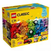 Lego 10715 Classic –Caixa Criativa Engrenagens E Rodas - 442 Peças