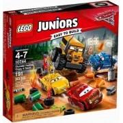 Lego 10744 Juniors – Carros 3 - Corrida em Circuito Fechado Crazy 8
