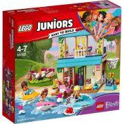 Lego 10763 friends Juniors Casa Do Lago Da Stephanie 215 Peças