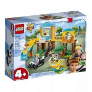Lego 10768 Toy Story 4 – Aventura No Playground De Buzz , Betty e Gabby – 139 peças