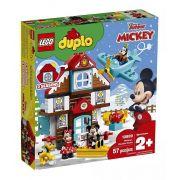 Lego 10889 Duplo - Disney A Casa De Férias Do Mickey - 57 peças