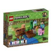 Lego 21138 Minecraft  A Fazenda Dos Melões – 69 peças