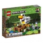 Lego 21140 Minecraft - o Galinheiro – 198 peças