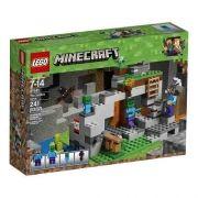 Lego 21141 Minecraft  a Caverna do Zombie 241 peças