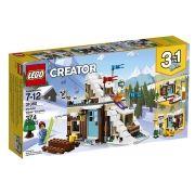 Lego 31080 Creator 3 em 1 Casa Modular de Férias de Inverno -374 peças