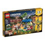 Lego 31095 Creator - Carrossel do Parque De Diversões 3 em 1 – 595 peças