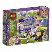 Lego 41332 Friends - A Banca de Arte da Emma 210 peças