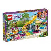 Lego 41374 Friends - Festa Na Piscina Da Andrea - 468 peças
