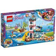 Lego 41380 Friends – Centro de Resgate do Farol Com Luz – 602 peças