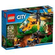 LEGO 60158 City - Helicóptero de Carga da Selva – 201 peças