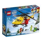 Lego 60179 City Helicóptero Ambulância – 190 peças