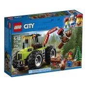 Lego 60181 City  Trator Florestal 174 peças