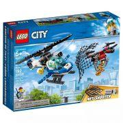 Lego 60207 City - Patrulha Aérea Perseguição Com Drone - 192 peças