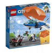 Lego 60208 City - Polícia Aérea - Detenção de Paraquedas  - 218 peças