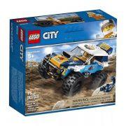 Lego 60218 City Carro de Corrida do Rali do Deserto -75 peças
