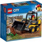 Lego 60219 City Trator Carregador da Construção – 88 peças