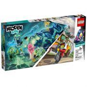 Lego 70423 Hidden Side - Ônibus Interceptor Paranormal 3000 Com APP – 689 peças