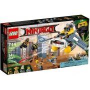 Lego 70609 Ninjago Filme Bomber Arraia - 341 peças