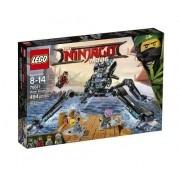 Lego 70611 Ninjago Filme -  Aranha Dágua – 494 peças