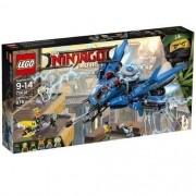 Lego 70614 Ninjago Filme -  Avião Relâmpago – 876 peças